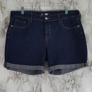 Old Navy Fitted Stretch Cuffed Shorts 14 SS42